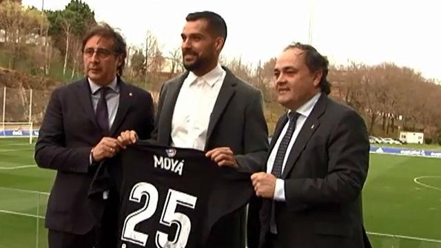 Moyá, presentado como nuevo portero de la Real Sociedad