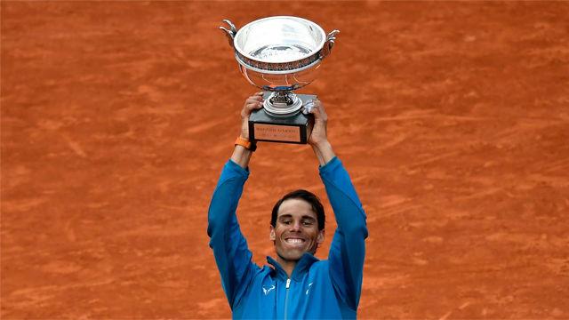 Nadal, campeón de Roland Garros por 11º vez
