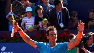 Nadal ya está en semifinales en Barcelona