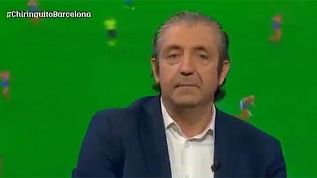 Pedrerol explicó una anécdota con un grupo de whatsapp del Barça
