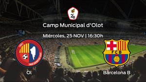 Previa del partido de la jornada 2: Olot - Barcelona B