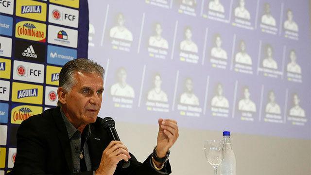 Queiroz desafía al Real Madrid: Si James no estuviera bien, no estaría en la lista