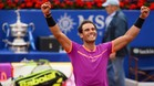 Rafa Nadal, satisfecho con su nivel de juego