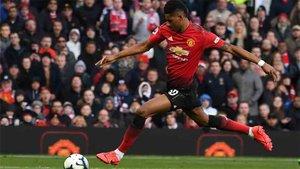 Rashford, una de las figuras del Manchester United