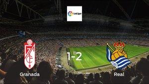 Real earned hard-fought win over Granada 1-2 at Los Carmenes