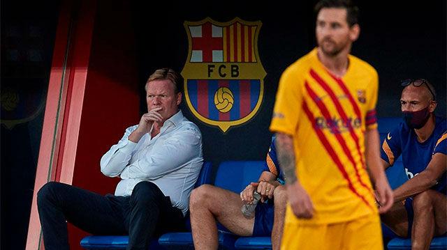 La respuesta de Koeman a las palabras de Leo Messi