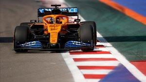 Sainz fue el piloto que menos rodó en los libres del Gran Premio de Rusia