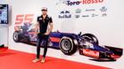 Sainz ha presentado su grada joven para el GP de España