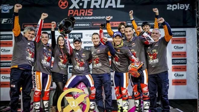 Toni Bou logra su duodécimo Mundial en París