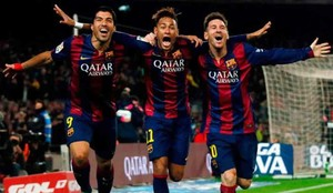 El tridente del Barcelona ya tiene sucesores