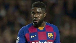 Umtiti quiere triunfar en el Barcelona