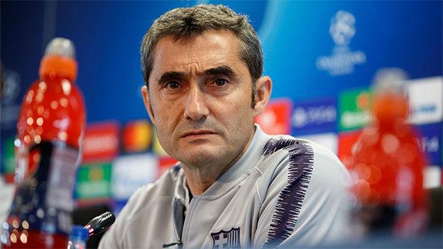 Valverde analiza el encuentro de vuelta ante el Manchester United