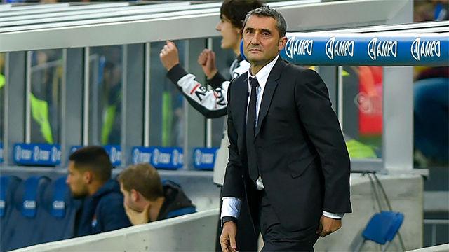 Valverde, sobre el posible penalti: Cada uno ve el partido con la camiseta de su equipo puesta