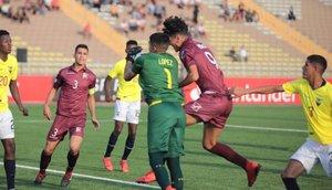 Venezuela y Ecuador igualaron 1-1 en el Sudamericano Sub 17