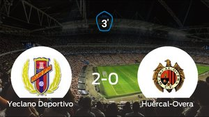 Victoria 2-0 del Yeclano Deportivo ante el Huércal-Overa