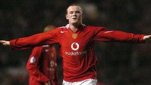 Wayne Rooney jugó 13 temporadas en el Manchester United