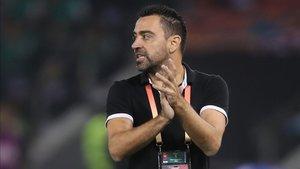 Xavi Hernández, técnico del Al-Sadd catarí