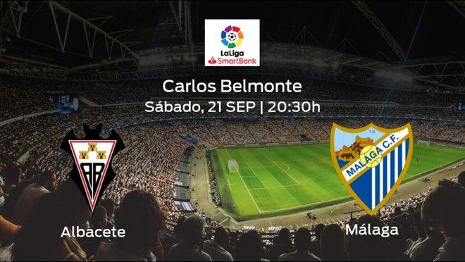 Previa del partido: el Albacete recibe al Málaga en la séptima jornada
