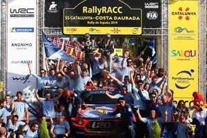 Hyundai, en el podio del RallyRACC