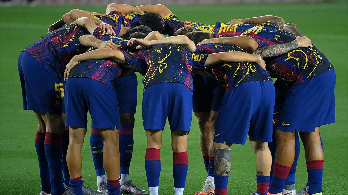 El 1x1 del Barça ante el Atlético en el descanso