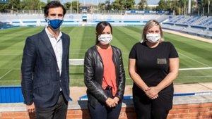 La alcaldesa de Sabadell visitó las obras de la Nova Creu Alta