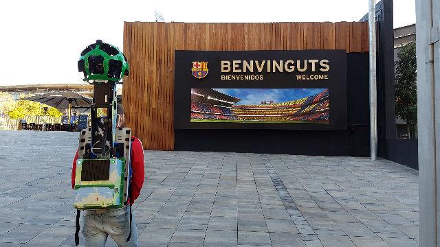 Así se hizo la conversión del Camp Nou a Google Street View