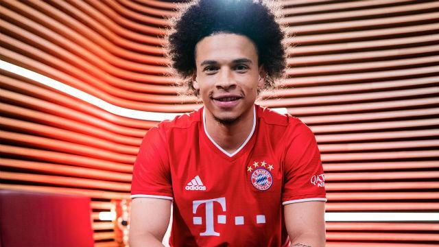 Así ha sido el primer entrenamiento de Sané con el Bayern