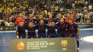 El Barça Lassa ha conquistado en Cáceres su quinta Copa del Rey