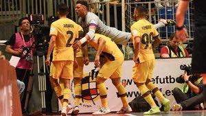 El Barça revalidó el título con una gran segunda mitad