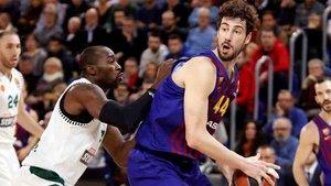 El Barcelona tuvo una buena actuación en la Euroliga de baloncesto