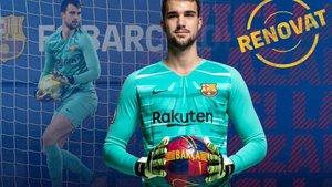 El club anunció la renovación de Lazar Carevic