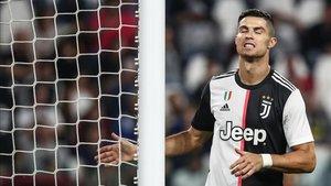 Cristiano, baja frente al Brescia por problemas musculares