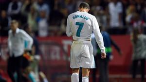 Cristiano está desquiciado ante su sequía goleadora