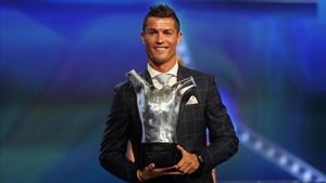 Cristiano Ronaldo, Mejor Jugador de la Champions 2016