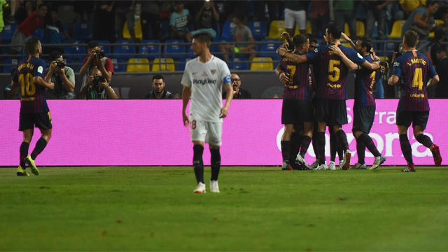 ¡Dembélé dio la vuelta al marcador! Así narró la radio el gol de la victoria del Barça