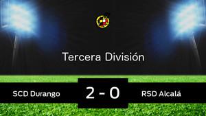 Durango 2-0 Alcalá