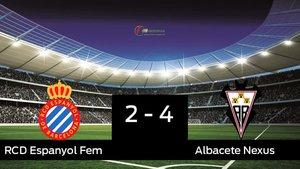 El Espanyol cae derrotado frente al Fundación Albacete (2-4)