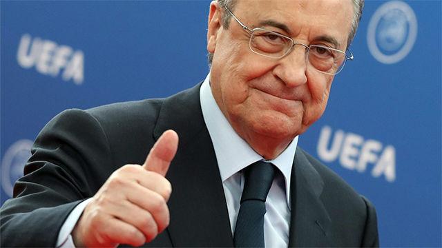 Florentino Pérez guarda silencio ante la posible destitución de Lopetegui