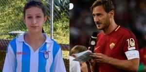 La futbolista que despertó del coma tras escuchar un mensaje de Totti (Roma)
