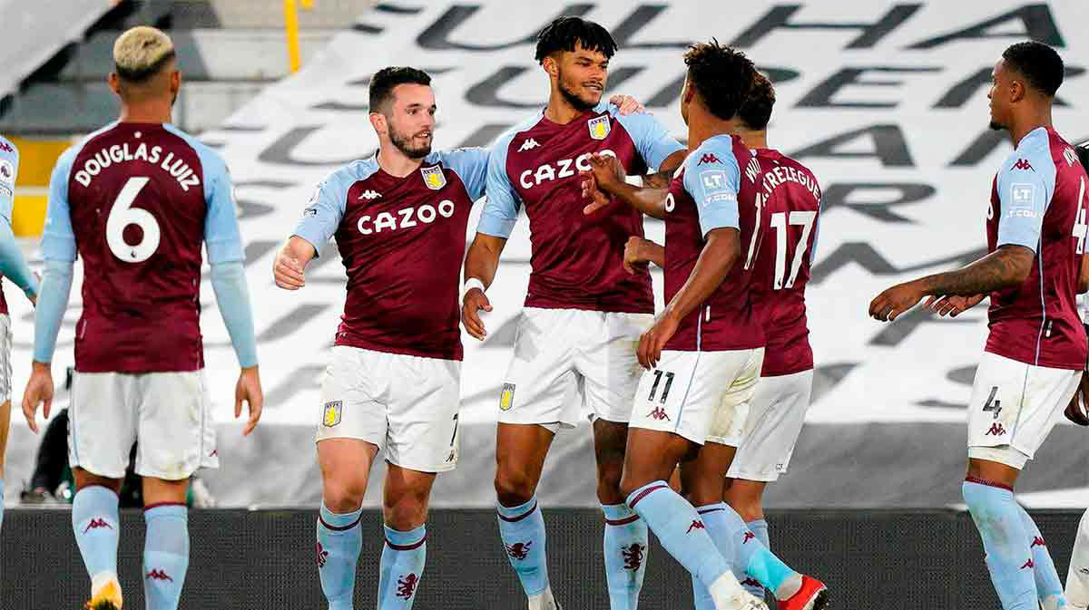 Goleada del Aston Villa al Fulham (0-3)