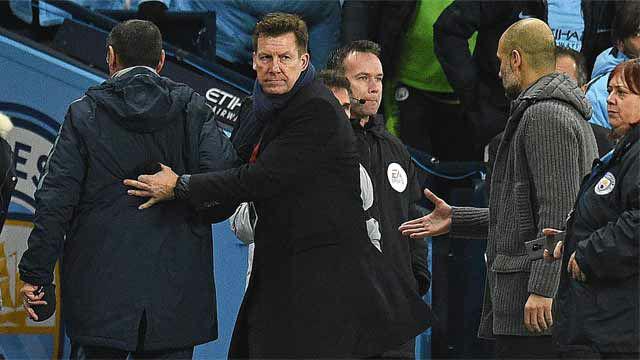 Guardiola, tras el no saludo de Sarri: No hay problema, no me ha visto