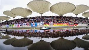 Hamilton, en la última edición del GP de China