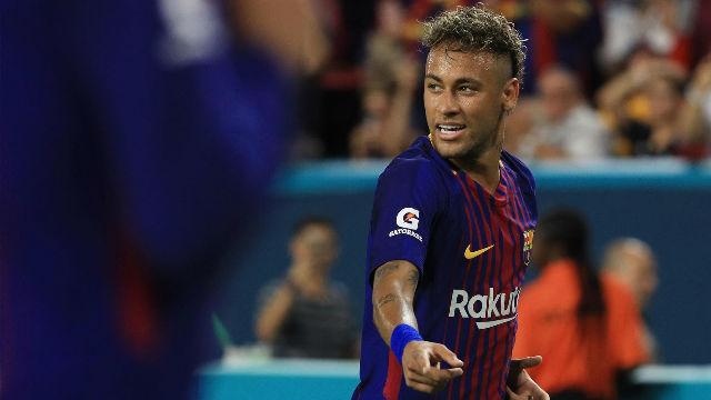 La hora de Neymar