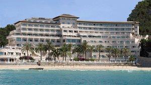 El hotel Nixe Palace, donde se hospedará el FC Barcelona en Palma