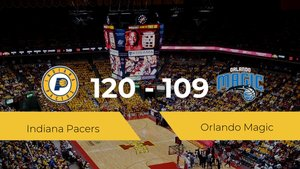 Indiana Pacers se hace con la victoria en el Visa Athletic Center contra Orlando Magic por 120-109