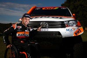 Isidre Esteve, con Toyota al próximo Dakar