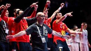 Jordi Ribera se felicitó por la trabajada victoria ante Eslovenia en las semifinales