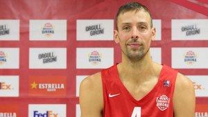 Jordi Trias, nuevo jugador del Bàsquet Girona