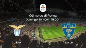 Jornada 12 de la Serie A: previa del duelo Lazio - US Lecce