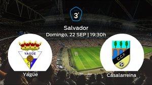 Jornada 5 de la Tercera División: previa del duelo Yagüe - Casalarreina